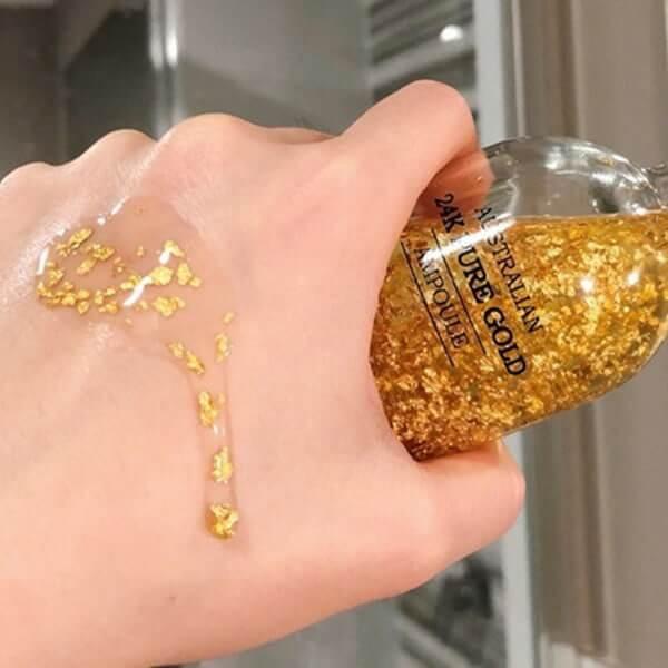 Sử dụng serum vàng 24k của Úc đúng cách sẽ tăng hiệu quả dưỡng da của sản phẩm