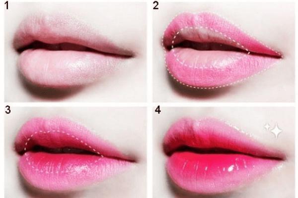 Đôi môi căng bóng sẽ là điểm nhấn trên khuôn mặt của bạn