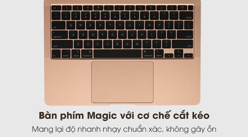 MacBook Air 2020 i3 | Bàn phím Magic và trackpad cao cấp