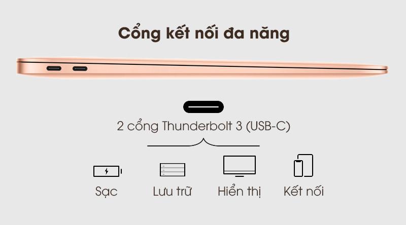 MacBook Air 2020 i3 | 2 cổng Thunderbolt 3