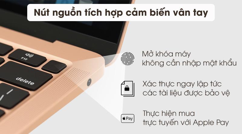 MacBook Air 2020 i3 | Chip bảo mật T2