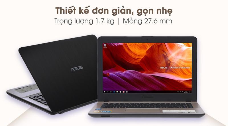 Laptop Asus Vivobook X441MA đơn giản, gọn nhẹ