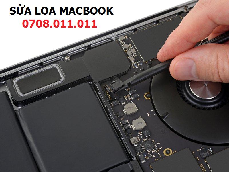 Sửa loa macbook - 1